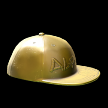 (Alpha Reward) Gold Cap